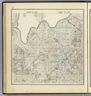 Range 23 East, Range 24 East, Township 10 South, Township 9 South. (Compiled, drawn and published ... by Thos. H. Thompson, Tulare, California, 1891)