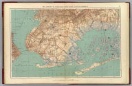 The Narrows to Jamaica Bay-Coney Island, north to Brooklyn. Copyrighted by Julius Bien & Co., 1890. (1891)