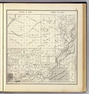 Range 19 East, Range 20 East, Township 12 South, Township 11 South. (Compiled, drawn and published ... by Thos. H. Thompson, Tulare, California, 1891)