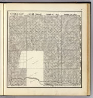 Range 25 East ... Range 28 East, Township 12 South ... Township 9 South. (Compiled, drawn and published ... by Thos. H. Thompson, Tulare, California, 1891)