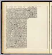 Range 29 East ... Range 31 East, Township 12 South ... Township 9 South. (Compiled, drawn and published ... by Thos. H. Thompson, Tulare, California, 1891)