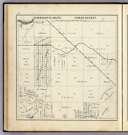 Township 13 South, Range 19 East. (Compiled, drawn and published ... by Thos. H. Thompson, Tulare, California, 1891)