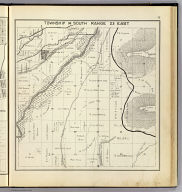 Township 14 South, Range 23 East. (Compiled, drawn and published ... by Thos. H. Thompson, Tulare, California, 1891)