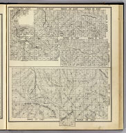 Range 27 East, Range 28 East, Township 13 South. (with) Range 26 East ... Range 29 East, Township 14 South, Township 13 South. (with) Range 30 East, Range 31 East, Township 13 South. (Compiled, drawn and published ... by Thos. H. Thompson, Tulare, California, 1891)
