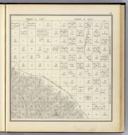 Range 13 East, Range 14 East, Township 16 South, Township 15 South. (Compiled, drawn and published ... by Thos. H. Thompson, Tulare, California, 1891)