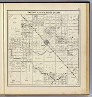 Township 15 South, Range 21 East. (Compiled, drawn and published ... by Thos. H. Thompson, Tulare, California, 1891)