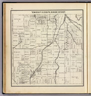 Township 15 South, Range 22 East. (Compiled, drawn and published ... by Thos. H. Thompson, Tulare, California, 1891)