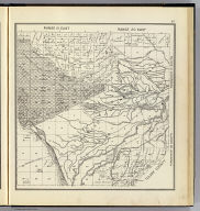 Range 19 East, Range 20 East, Township 18 South, Township 17 South. (Compiled, drawn and published ... by Thos. H. Thompson, Tulare, California, 1891)