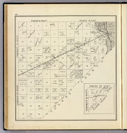 Range 18 East, Range 19 East, Township 20 South, Township 19 South. (with) Range 20 East, Township 19 South. (Compiled, drawn and published ... by Thos. H. Thompson, Tulare, California, 1891)