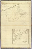 (The north eastern coast of North America from New York to Cape Canso including Sable Island by Edmund Blunt. East sheet. (with) Halifax Harbour and adjacent coast by J.F.W. Des Barres. Published & Sold by E. & G.W. Blunt, No. 154 Water Street, corner of Maiden Lane, New York. G. Ely Sct. Engd. by D.R. Harrison. Entered ... 22nd day of July 1828, by Edmund Blunt of the State of New York)