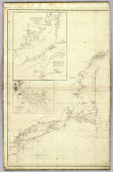 (The north eastern coast of North America from New York to Cape Canso including Sable Island by Edmund Blunt. West sheet. (with) Buzzards Bay drawn from the survey of Des Barres and information furnished by W.C. Taber ... (with) Boston Harbour from the survey of A.S. Wadsworth, U.S.N. and the chart of Des Barres. Published & Sold by E. & G.W. Blunt, No. 154 Water Street, corner of Maiden Lane, New York. G. Ely Sct. Engd. by D.R. Harrison. Entered ... 22nd day of July 1828, by Edmund Blunt of the State of New York)