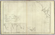 (The coast of the United States of North America, from New York to St. Augustine. 3rd sheet. Drawn and regulated according the the latest surveys and astronomical observations by Edmund Blunt). New York: published by E. & G.W. Blunt, 154 Water Street, corner of Maiden Lane. Engraved & printed by W. Hooker, 202 Water Street, New York.