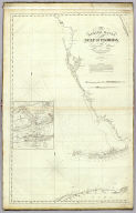 The Bahama Banks and Gulf of Florida by Edmund Blunt, hydrographer. (West sheet). (with) Chart of Key West by George Gauld. Engd. by R.M. Gaw, N.Y. Entered according to Act of Congress , the 30th day of October 1826 by E. & G.W. Blunt, of the State of New York. New York: published by E. & G.W. Blunt, 1827.