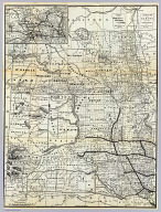 Correct map of Dakota compiled from United States and territorial surveys. Augs. 1st. 1886. Published for the Chicago & North-Western Railway by Rand McNally & Co., Chicago (1888)