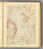 No. 1. Mass.-Conn.-N.Y. Sheffield sheet. U.S. Geological Survey, J.W. Powell, Director. State of Connecticut ... State of Massachusetts ... commissioners. Henry Gannett, Chief Geographer. Marcus Baker, Geographer in charge. Triangulation by S. Borden and H.F. Walling. Topography by E.W.F. Natter. Surveyed in 1884-1885. (1893)