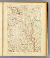 No. 2. Connecticut-Massachusetts, Sandisfield sheet. U.S. Geological Survey, J.W. Powell, Director. State of Connecticut ... State of Massachusetts ... commissioners. Henry Gannett, Chief Geographer. Marcus Baker, Geographer in charge. Triangulation by the U.S. Coast and Geodetic and Borden surveys. Topography by W.H. Lovell, under the direction of Willard D. Johnson, topographer. Surveyed in 1886. (1893)