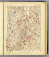No. 8. Connecticut. Cornwall sheet. U.S. Geological Survey, J.W. Powell, Director. State of Connecticut ... commissioners. Henry Gannett, Chief Topographer. Marcus Baker, Topographer in charge. Triangulation by the U.S. Coast and Geodetic Survey. Topography by E.W.F. Natter and G.L. Johnson. Surveyed in 1889-90. (1893)