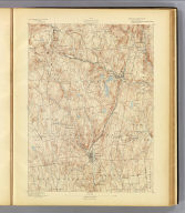 No. 9. Connecticut. Winsted sheet. U.S. Geological Survey, J.W. Powell, Director. State of Connecticut ... commissioners. Henry Gannett, Chief Topographer. Marcus Baker, Topographer in charge. Triangulation by S.S. Gannett. Topography by E.W.F. Natter and G.L. Johnson. Surveyed in 1889-90. (1893)