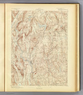 No. 16. Connecticut. New Milford sheet. U.S. Geological Survey, J.W. Powell, Director. State of Connecticut ... commissioners. Henry Gannett, Chief Topographer. Marcus Baker, Topographer in charge. Triangulation by U.S. Coast and Geodetic Survey. Topography by Marcus B. Lambert and J.H. Jennings. Surveyed in 1889. (1893)