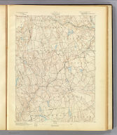 No. 20. Connecticut. Gilead sheet. U.S. Geological Survey, J.W. Powell, Director. State of Connecticut ... commissioners. Henry Gannett, Chief Topographer. H.M. Wilson, Geographer in charge. Triangulation by U.S. Coast and Geodetic Survey. Topography by G.E. Hyde and J.J. Lincoln. Surveyed in 1890. Engraved by Julius Bien & Co., N.Y. (1893)