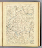 No. 22. Connecticut-Rhode Island. Moosup sheet. U.S. Geological Survey, J.W. Powell, Director. State of Connecticut ... State of Rhode Island ... commissioners. Henry Gannett, Chief Geographer. Marcus Baker, Geographer in charge. Topography by R.D. Cummin and Wm. Kramer. (1893)