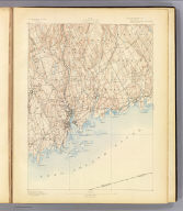 No. 32. Connecticut. Norwalk sheet. U.S. Geological Survey, J.W. Powell, Director. State of Connecticut ... commissioners. Henry Gannett, Chief Topographer. H.M. Wilson, Geographer in charge. Triangulation by U.S. Coast and Geodetic Survey. Topography by E.B. Clark and Wm. Kramer. Surveyed in 1889-90. Engraved by U.S.G.S. (1893)