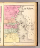 City of New Bedford. (H.F. Walling & O.W. Gray, Boston, 1871)