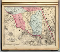 Topographical map of the southern part of Burlington Co., New Jersey (1872) (1872)