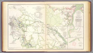 Campaign maps, Army of the Potomac. Map no. 3. White House to Harrison's Landing. Prepared by command of Maj. Gen. George B. McClellan ... Brig. Gen. A.A. Humphreys, Chief of Top. Engrs., Army of the Potomac. (with) Official plan of the Siege of Yorktown, Va. conducted by the Army of the Potomac under the command of Maj. Gen. George B. McClellan, U.S.A., April 5th to May 3rd 1862. Prepared under the direction of Brig. Gen. J.G. Barnard ... by Lieut. Henry L. Abbot ... (with) Campaign maps, Army of the Potomac. Map no. 2. Williamsburg to White House ... (with) Sketch no. 1, Mulberry Island, Va. (with) Sketch no. 2. Principal work on Mulberry Island, Va. Julius Bien & Co., Lith., N.Y. (1891-1895)