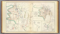 Map of the battle of the Antietam fought on the 16th and 17th September 1862 between the United States forces under the command of Maj. Gen. Geo. B. McClellan and the Confederates under Gen. Robert E. Lee. Prepared ... under the direction of 1st Lt. Nicholas Bowen ..., 1st Lt. A.H. Cushing ..., Chas. Shoemacker, E.F. Bowke, Jos. McMakin, C.A. Mallory, assts. ... October 1862. (with) Map of the battle of the Antietam ... sketched under the direction of Capt. J.C. Duane ... by Maj. D.C. Houston ..., Lt. N. Bowen, Lt. Js. H. Wilson, Lt. Jno. M. Wilson ..., Lt. W.A. Roebling ..., W.S. Long ..., Jos. McMackin ... (with) Engagement at deserted house or Kelly's Store near Suffolk, Va., January 30th 1863 (with) Battle-field of Gettysburg, July 1-4, 1863. Drawn by Thomas Peters ... (with) Map of the position of the cavalry during the engagement of April 4th 1863 ... (with) Map of that portion of the battle-field of Antietam occupied by the troops under Maj. Gen. Burnside ... from surveys made under the supervision of Capt. R.S. Williamson ... by H.C. Fillebrown, E.S. Waters, Civ. Eng'rs. Julius Bien & Co., Lith., N.Y. (1891-1895)
