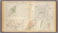 Map of Orange County &c., Va. embracing the details and plan of operations of Confederate and Federal forces at Mine Run and Rapidan River by order of ... W.P. Smith, Lt., Col. of Engrs., Topl. Office, A.N.V. Prepared by J. Paul Hoffman. Accompanying report of General R.E. Lee, C.S. Army. (with) Part of map of portions of the military departments of Washington, Pennsylvania, Annapolis and Northeastern Virginia. Compiled in the Bureau of Topographical Engrs., War Department &c., 1861. Accompanying report of Capt. L.B. Norton ... (with Decatur, Howard's Plantation). From original in possession of Gen. W.T. Sherman. (with Brownings C.H.-Stone Mountain) C.B. Reese, Capt. Engrs. From original in possession of Gen W.T. Sherman. (with Campbellton Region) Accompanying letter of Maj. Gen. George Stoneman. (with) Map to show lines of march of Second Army Corps and the enemy, Oct. 14, 1863 ... report of ... G.K. Warren. (with) Map of battle-field at Bristoe fought by 2d Army Corps commanded by Maj. Gen. G.K. Warren, October 14, 1863. (with) Map of Missionary Ridge, Tenn. showing the positions attacked by the forces under the command of Maj. Gen. W.T. Sherman, Nov. 24th and 25th, 1863. Julius Bien & Co., Lith., N.Y. (1891-1895)