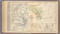Engineer' Office, Military Division of the Gulf, map no. 6. Central Virginia, showing Maj. Gen. P.H. Sheridan's campaigns and marches of the Cavalry under his command in 1864-1865. Drawn and lithographed under the direction of ... Geo. L. Gillespie ... October 1865. Engineer Office, Military Division of the Gulf, map no. 3. Battle-field of Dinwiddie C.H., fought Friday March 31st 1865 ... Surveyed, drawn and lithographed under direction of ... G.L. Gillespie ... July 1865. Surveyed and drawn by Henry C. Koch. Drawn for stone by C.W. Drury. (with) Map of Montgomery, Ala. and its defenses. Drawn by Lieut H.S. Heywood ... from original projection by Brig. Gen. Leadbetter, C.S.A. (with) Sketch of Columbus, Ga. and its defenses. From survey made by Lieut. H.S. Heywood ... (with) Sketch of the battle-field of Ebenezer Church, Ala. Battle fought on the 1st day of April 1865 between the U.S. forces under Bvt. Maj. Gen. Wilson and the C.S. forces under Lieut. Gen. Forrest. Julius Bien & Co., Lith., N.Y. (1891-1895)