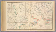 Campaign maps exhibiting the line of march of the 20th Corps from Savannah, Ga. to Goldsborough, N.C., with the plans of the battle-fields of Averysborough and Bentonville, N.C., from surveys of Topographical Engineers 20th Corps. Position of troops by Lieut. Col. C.W. Asmussen ... Rough sketch of Taylor's store, Ala. and surrounding country. Julius Bien & Co., Lith., N.Y. (1891-1895)