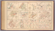 No. 25. Sketch of the cavalry engagement at Milford, Va., of Fitz Lee's division, Wednesday Sept. 21st, 1864, to accompany report of Jed. Hotchkiss ... No. 28. Cavalry action of Gen. Rosser near Brock's Gap, Va., Oct. 6th 1864. No. 30. Sketch of action of Gen. Rosser's cavalry near Moorefield, Va., Sunday Nov. 27th 1864. No. 31. Map of New Creek and vicinity showing position of Fort Kelley and the Federal camp captured by ... Rosser's Cav. Div., A.N.V., Monday Nov. 28th 1864. No. 36. Capture of Beverly, Randolph Co., Va. by Gen. Rosser, Jan. 11th 1865. No. 32. Map of Gen. Rosser's night attack on Custer's division at Lacey Spring, Va., Wednesday Dec. 21st 1864. No. 33. Sketch of cavalry action at Liberty Mills, Va., Friday Dec. 23d 1864. No. 34. Sketch of cavalry engagement of Gen. Lomax near Gordonsville, Va., Dec. 24th 1864. No. 37. Map showing positions of the camps and pickets of the Army of the Valley District, January 31st 1865. No. 35. Map showing routes of Rosser's division to Beverly, Va. and back, Jan. 7th to Jan. 18th 1865. No. 38. Sketch of Gen. Rosser's attack on Federal cavalry guarding prisoners at Rude's Hill, Va., Tuesday March 7th 1865. (with) Sketches accompanying journal of Capt. Jed. Hotchkiss, C.S. Army. (most) by Jed. Hotchkiss, Top. Eng. ... Julius Bien & Co., Lith., N.Y. (1891-1895)