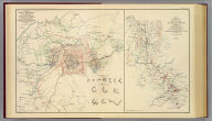 Map illustrating the siege of Atlanta, Ga. by the United States forces under command of Maj. Gen. W.T. Sherman from the passage of Peach Tree Creek, July 19th 1864 to the commencement of the movement upon the enemy's lines of communication south of Atlanta August 26th 1864. Surveyed and compiled under the direction of Capt. O.M. Poe ... Drawn in June, July, August and Sept., 1865 by Capt. H.A Ulffers, A.A.G. (with) Map illustrating the operations of the Army under com'd. of Maj. Gen. W.T. Sherman in Georgia, from May 5th 1864 to Sept. 4th 1864, compiled under the direction of Capt. O.M. Poe, Chief Engr. from maps and data furnished by the engrs. of the armies of the Cumberland, Tennessee and Ohio and drawn by Lt. A.F. Brooks. Julius Bien & Co., Lith., N.Y. (1891-1895)