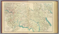 Chief Engineer's Office, D.N.Va. Maj. Gen. J.F. Gilmer, Chief Engineer. Map of the vicinity of Richmond, Va., and part of the Peninsula. From surveys made under the direction of Capt. A.H. Campbell, P.E.C.S.A., in charge, Topographical Department, D.N.Va. 1864. (with) Part of Hanover County. Map. 1, Section 2. (with) Part of New Kent County. Map 1, Section 3. (with) Map 1, Section 3. Julius Bien & Co., Lith., N.Y. (1891-1895)
