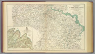 Chief Engineer's Office, D.N.V., Maj. Gen. J.F. Gilmer, Chief Eng'r. Preliminary map of a part of the south side of James River, Va. From surveys and reconnaissances made under the direction of Capt. A.H. Campbell, P.E., in ch'ge Top. Dept., D.N.V. 1864. J.H. Patton, Asst. Engr. (with) The battle-field of Chancellorsville, Va. Prepared by Bvt. Brig. Gen. N. Michler, Major of Engineers, from surveys under his direction. By order of ... A.A. Humphreys ... 1867. Surveyed and drawn by Maj. J.E. Weyss, assisted by F. Theilkuhl, J. Strasser and C. (i.e. G.) Thompson. Julius Bien & Co., Lith., N.Y. (1891-1895)