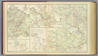 Map of the battle-field of The Wilderness, Va., prepared by command of Brig. Gen. A.A. Humphreys, Chief of Corps of Engineers, U.S. Army. From surveys made under direction of Bvt. Brig. Gen. N. Michler, Major of Engineers. 1867. Surveyed and drawn by Maj. J.E. Weyss, assisted by E. Theilkuhl, J. Strasser and G. Thompson. Map of the battle-field of North Anna, Va. ... 1867. Map of the battle-field of Spotsylvania Court-House, Va. Compiled from surveys made under the direction of N. Michler ... and Bvt. Maj. C.W. Howell ... 1867. The battle-field of Totopotomoy, Va. From surveys under the direction of ... N. Michler ... and ... C.W. Howell ... by command of ... A.A. Humphreys ... 1867. ... (with) Chickamauga, Ga. Accompanying report of ... Patrick. R. Cleburne, C.S. Army. (with) Engineer's Office, Army of Miss., W.J. Morris, Capt. & Chief Engr. F.G. Gutherz, Asst. Engr., June 17th 1864 for Maj. Gen. French (Marietta Region, Ga.) Julius Bien & Co., Lith., N.Y. (1891-1895)