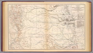 Engineer Bureau, War Department. Section of map of the states of Kansas and Texas and Indian Territory, with parts of the territories of Colorado and New Mexico. From the most recent official surveys and explorations and other authentic information. 1867. Julius Bien & Co., Lith., N.Y. (1891-1895)