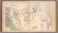Territory and Military Department of Utah, compiled in the Bureau of Topograph(ica)l. Engrs. of the War Depart(men)t. chiefly for military purposes. Under the authority of Hon. J.B. Floyd, Sec. of War. 1860. (with) March routes of Army of the Tennessee from Savannah, Ga. to Columbia, S.C., 1865. Accompanying the report of Maj. Gen. O.O. Howard, U.S. Army. Julius Bien & Co., Lith., N.Y. (1891-1895)