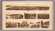 Chattanooga, Tenn. from Cameron Hill, taken April 1864. Made under the direction of Capt. W.E. Merrill, Chief Engr., D.C. (with) U.S. military bridge over the Tennessee at Chattanooga, taken March 1864 ... (with) Part of Missionary Ridge, Tenn. (with) Govt. wagon yard at Chattanooga, Tenn. showing Cameron Hill and Fort Carpenter. (with) Blockhouse for defense of R.R. yard at Chattanooga, Tenn. (with) The Suck--Tenn. River below Chattanooga, looking up the river. (with) The Suck--Tenn. River below Chattanooga, looking down the river. Julius Bien & Co., Lith., N.Y. (1891-1895)