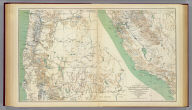 Topographical map of California, Nevada, Oregon and part of Idaho. Prepared from field surveys and other reliable data. Under the direction of Bvt. Lt. Col. R.S. Williamson, Corps of Engineers, U.S.A. Drawn by W.B. Hyde. 1867.. Julius Bien & Co., Lith., N.Y. (1891-1895)