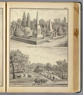 Cemetery lot Sacto., res. Woodland.