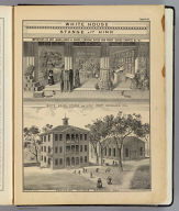 White House, Stange and Hink, props., Woodland, Cal. Hesperian College, Woodland, Cal. De Pue & Co. Pub., S.F. Lith. W.T. Galloway, S.F. (1879)