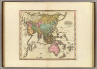 Asia. American Atlas. Published by H.S. Tanner Philadelphia.