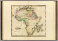 Africa. American Atlas. Engraved & Published by H.S. Tanner, Philadelphia.