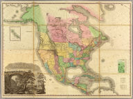 A Map Of North America, Constructed According To The Latest Information: By H.S. Tanner. Improved to 1825. (with) Western Part of the Alleutian Islands. (with) Comparative Altitudes Of The Mountains, Towns &c. Of North America. American Atlas. Entered ... 27th day of May 1822, by H.S. Tanner ... Pennsylvania. Printed by Wm. Duffee. Engraved & Published by H.S. Tanner, Philadelphia, 1822.
