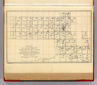 Index map of the 54 atlas sheets of the topographical map of Mass. Published by the Commonwealth under the direction of the Commissioners. Office: Commonwealth Bldg., 11 Mt. Vernon St., Boston, Mass. Preliminary edition, 1890. Forbes Co., Boston & N.Y.