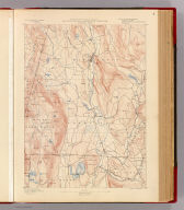 Massachusetts-Connecticut-New York. Sheffield sheet. Preliminary edition subject to corrections. U.S. Geological Survey, J.W. Powell, Director. State of Massachusetts ... commissioners. Henry Gannett, Chief Geographer. Marcus Baker, geographer in charge. Triangulation by S. Borden and H.F. Walling. Topography by E.W.F. Natter. Surveyed in 1884-5. Forbes Co., Boston & N.Y. (1890)
