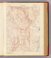Massachusetts. Granville sheet. Preliminary edition subject to corrections. U.S. Geological Survey, J.W. Powell, Director. State of Massachusetts ... commissioners. Henry Gannett, Chief Geographer. Marcus Baker, geographer in charge. Triangulation by the U.S. Coast and Geodetic and Borden surveys. Topography by C.C. Bassett, under the direction of W.D. Johnson, topographer. Surveyed in 1886-7. Forbes Co., Boston & N.Y. (1890)